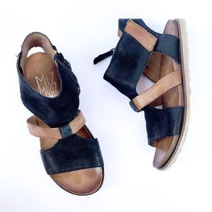 Mix Mooz Tamsyn Cut Out Leather Sandals | 37
